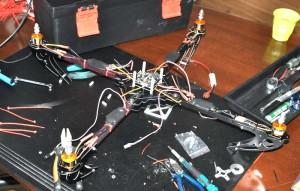 X525 V3 Multicopter Rahmen fertig