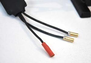 X525 Regler mit Stecker. (Schrumpfschlauch noch nicht geschrumpft!)