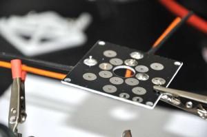 X525 Stromverteilerplatine löten