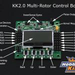 X525 Umbau auf Hobbyking KK2.0