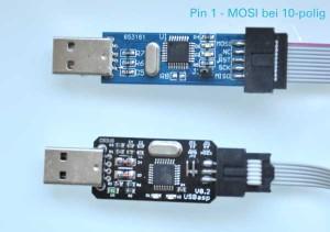 2 Programmieradapter 10 und 6 polig