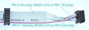 USBasp 10 auf 6-polig