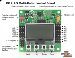 Flighcontrol zum Quadrocopter selber bauen