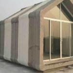 Haus aus dem 3D-Drucker