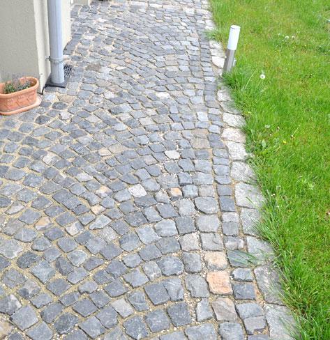 Extrem Gartenwege und Plätze selber pflastern KR91
