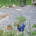Gartenwege und Plätze selber pflastern