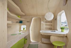 Studentenwohnung als Minihaus.